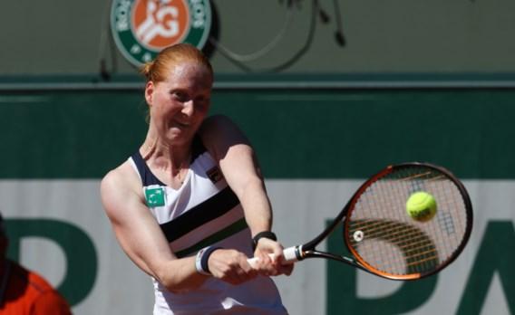 Alison Van Uytvanck verovert plaats in Roland Garros