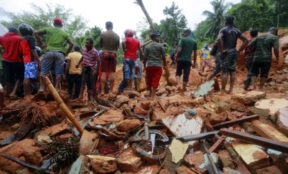 Minstens 23 doden bij aardverschuivingen in Sri Lanka