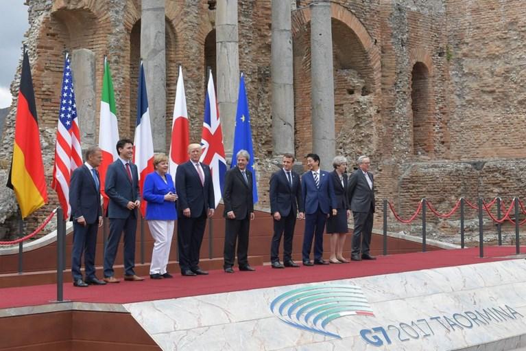 Vuurdoop voor Trump op G7: 'Het wordt geen simpel debat'