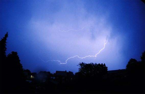 'Onweer hoort bij ons Belgisch weer'