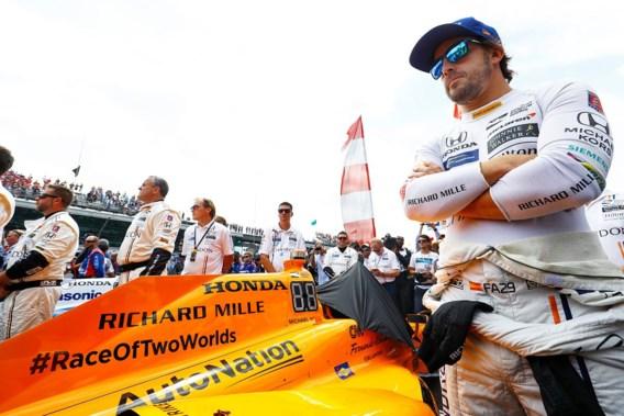 Alonso moet opgeven tijdens Indy 500 door kapotte Honda-motor