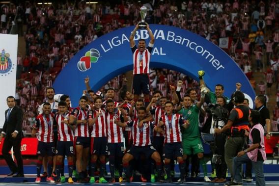 Guadalajara viert na tien jaar opnieuw Mexicaanse titel