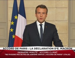 Macron: 'Make our planet great again'