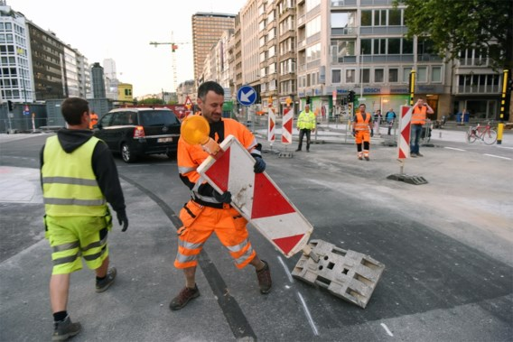 Website 'Slim Naar Antwerpen' ligt plat op eerste dag van knip in Leien
