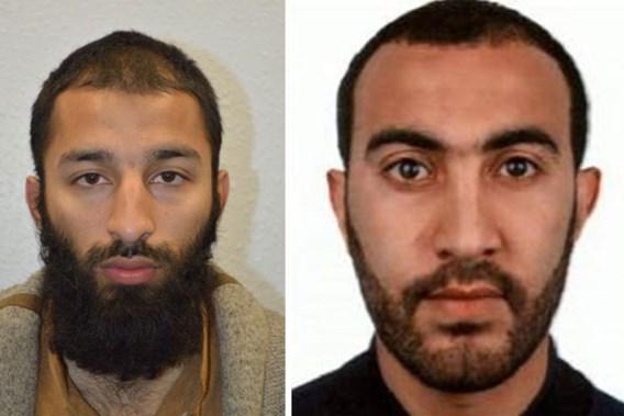 Twee van de drie daders aanslag Londen geïdentificeerd