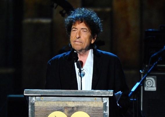Bob Dylan bezorgt alsnog zijn lezing voor de Nobelprijs