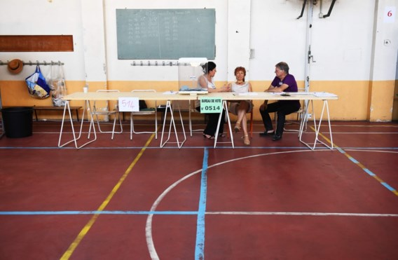 'Opkomst Franse parlementsverkiezingen historisch laag