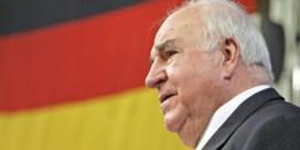 Begrafenis van Kohl krijgt gemeen kantje