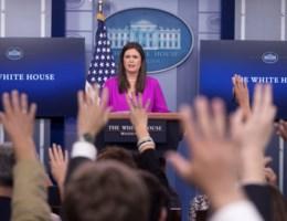 Journalist verweert zich na zoveelste uithaal van Witte Huis: 'U hitst mensen in heel het land op'