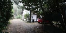 Afbraak weekendhuis Jeroen Brouwers is gestart