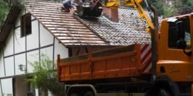 Huis Jeroen Brouwers afgebroken