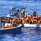 Exclusieve beelden van reddingsactie Belgische marine