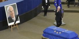Europa brengt eerbetoon aan 'echte Europeaan' Helmut Kohl