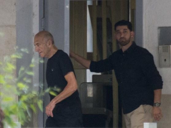 Israëlische ex-premier Olmert vrijgelaten uit gevangenis