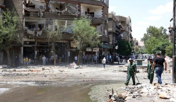 Twintigtal slachtoffers bij zelfmoordaanslag in Damascus