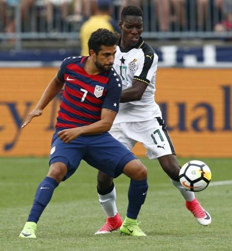 AA-Gent-speler maakt debuut voor Verenigde Staten, Acheampong in de basis bij Ghana