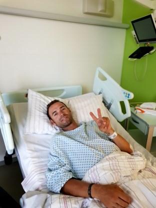 """Valverde al geopereerd na vreselijke smak: """"Alles is goed gegaan"""""""