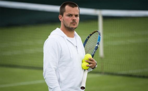 """Simon Goffin, broer van, wel op Wimbledon (als trainer): """"David viert weldra zijn comeback"""""""