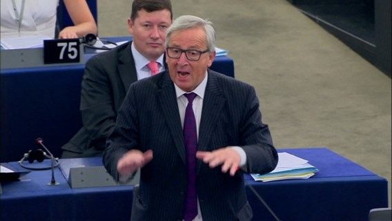 Een faux pas van voorzitter Juncker