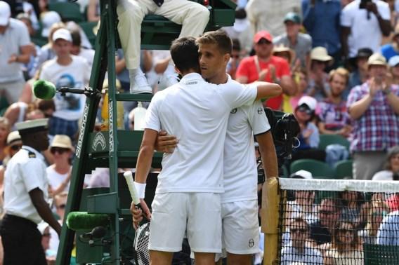WIMBLEDON. Djokovic én Federer zien tegenstander opgeven