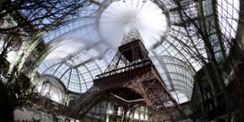 Chanel laat Eiffeltoren nabouwen voor modeshow