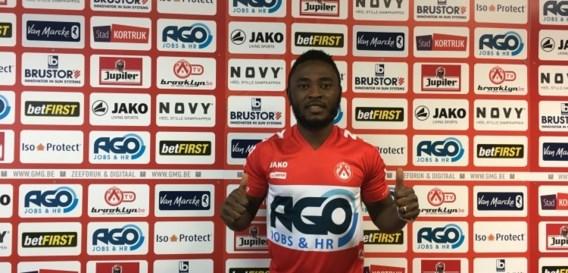 KV Kortrijk strikt Nigeriaanse middenvelder Ajagun
