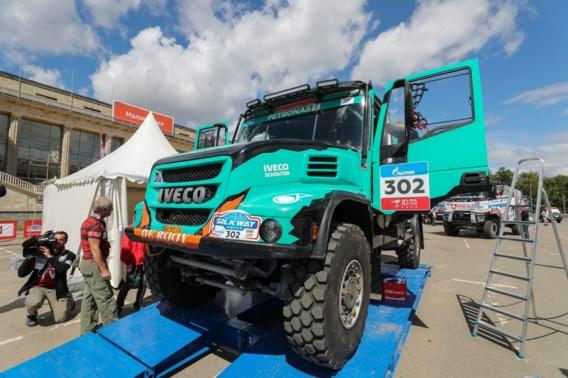 Drie Belgen aan de start in de Silk Way rally