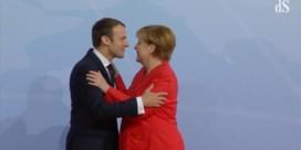 Zo verwelkomt Angela Merkel de wereldleiders