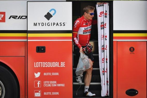 """Lotto-Soudal blijft vertrouwen hebben in André Greipel: """"We proberen het vandaag opnieuw"""""""