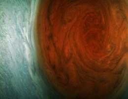 We kwamen nooit dichter bij 'het rode oog' van Jupiter