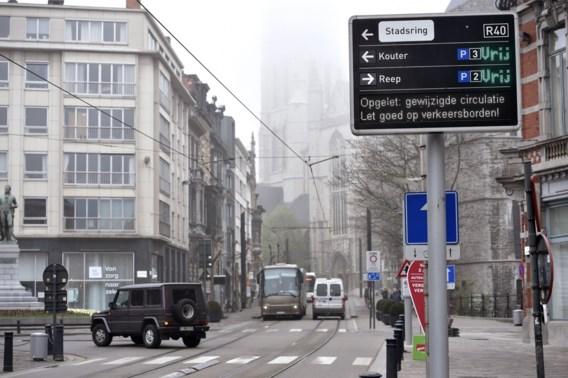 Circulatieplan in Gent krijgt snelle aanpassingen