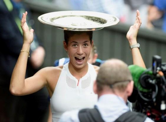 Spaanse Muguruza houdt Venus Williams van zesde Wimbledon-zege