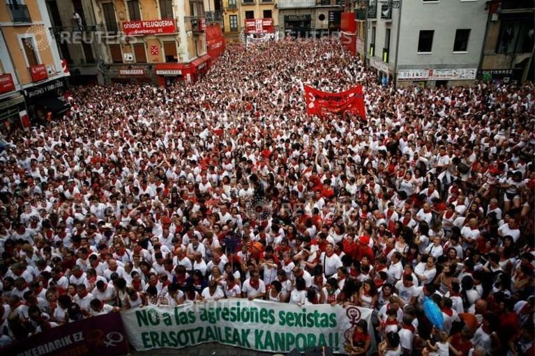 Elf mannen opgepakt wegens seksueel misbruik in Pamplona