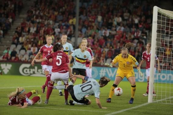 Deklat houdt dappere Red Flames van eerste punt ooit op EK