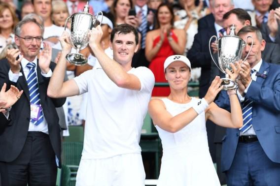 Topreekshoofden Martina Hingis en Jamie Murray winnen gemengd dubbel op Wimbledon