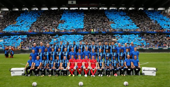 "Club Brugge pakt uit met ""grootste ploegfoto van België"" én stelt nieuwe kapitein voor"