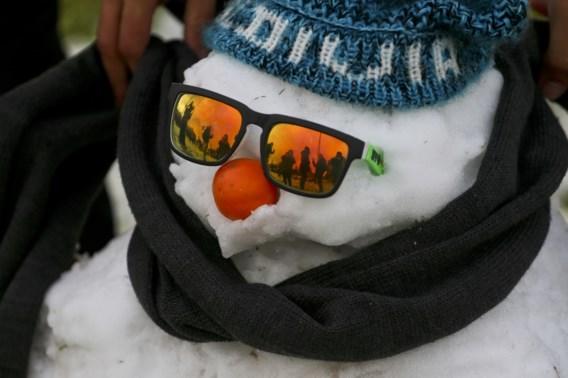Hoogst uitzonderlijk: sneeuw in Chileense hoofdstad