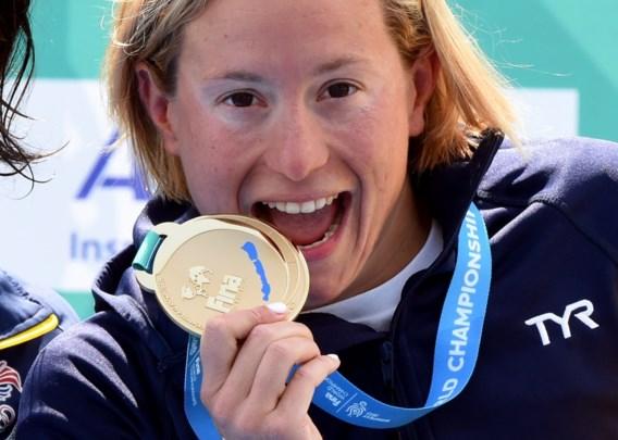 Muller verlengt wereldtitel op 10 km openwaterzwemmen