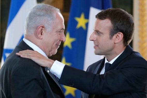 Netanyahu en Macron herdenken samen Franse razzia