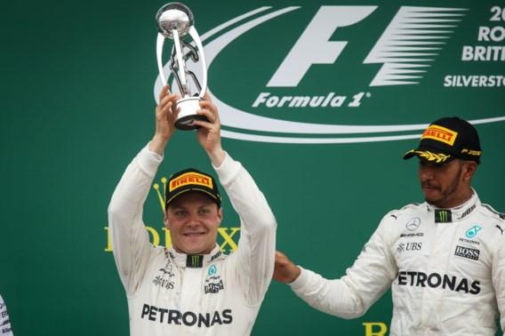 Bottas blijft vrijwel zeker langer bij Mercedes