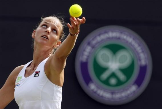 Pliskova kroont zich tot nieuwe nummer één van de wereld, Wickmayer wint 14 plaatsen
