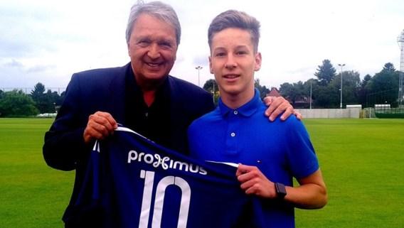 Anderlecht geeft 16-jarige Yari Verschaeren profcontract