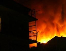 Vuurzee nadert woonwijken in Kroatië