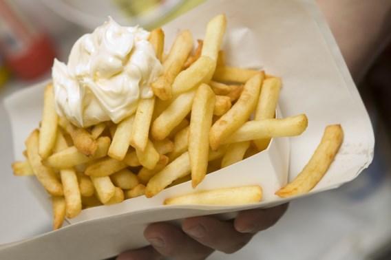 Geblancheerde frieten stapje dichterbij