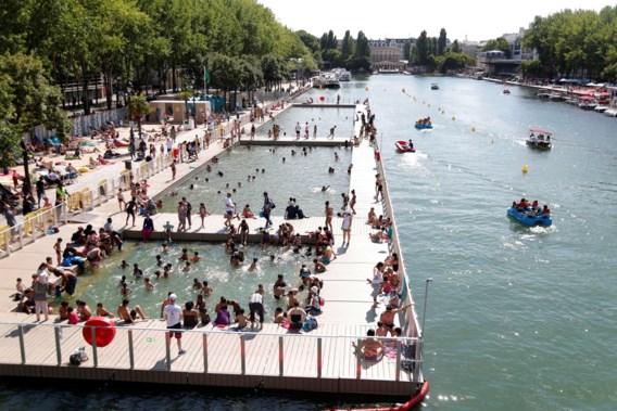 'Dit zwembad is de eerste stap naar zwemmen in de Seine'