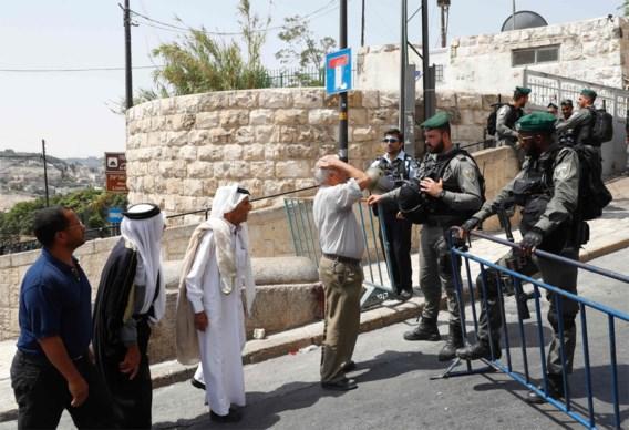 Mannen jonger dan vijftig mogen Oude Stad van Jeruzalem niet binnen