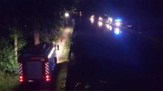 Brandweer houdt zoekactie in kanaal, vermiste man zit kletsnat thuis