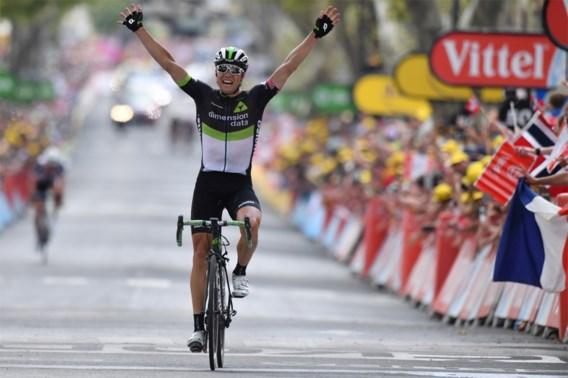 Boasson Hagen verknalt het Belgisch feestje in de Tour en wint na straf nummer
