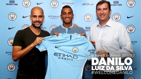 Manchester City haalt Danilo, Kolarov wordt ploegmaat van Nainggolan