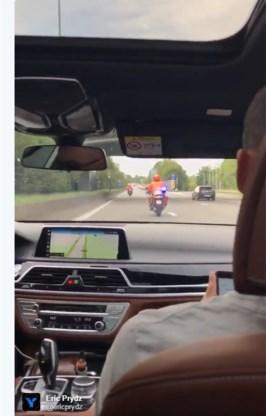DJ met politie-escorte naar Tomorrowland